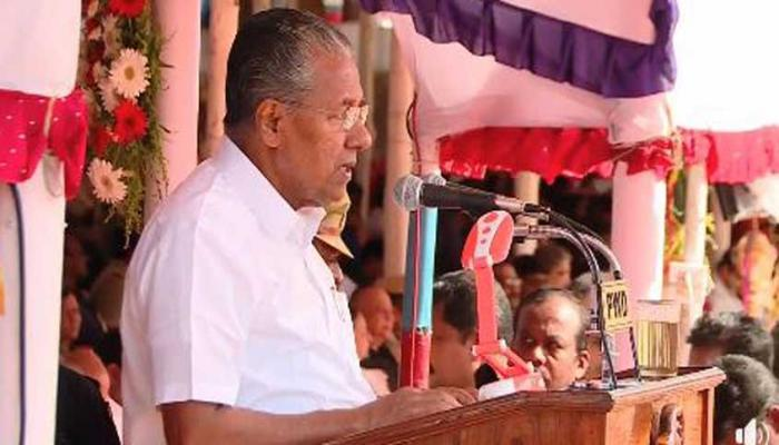 PINARAYI FREEDOM SPEECH