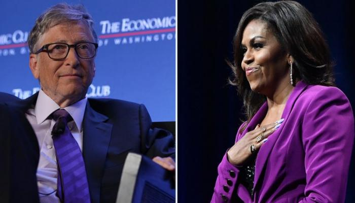 bill gates-mischelle obama