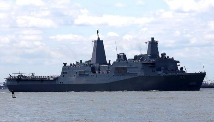 US war ship